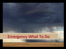 Emergency What to Do
