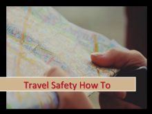 Safety Travel How To