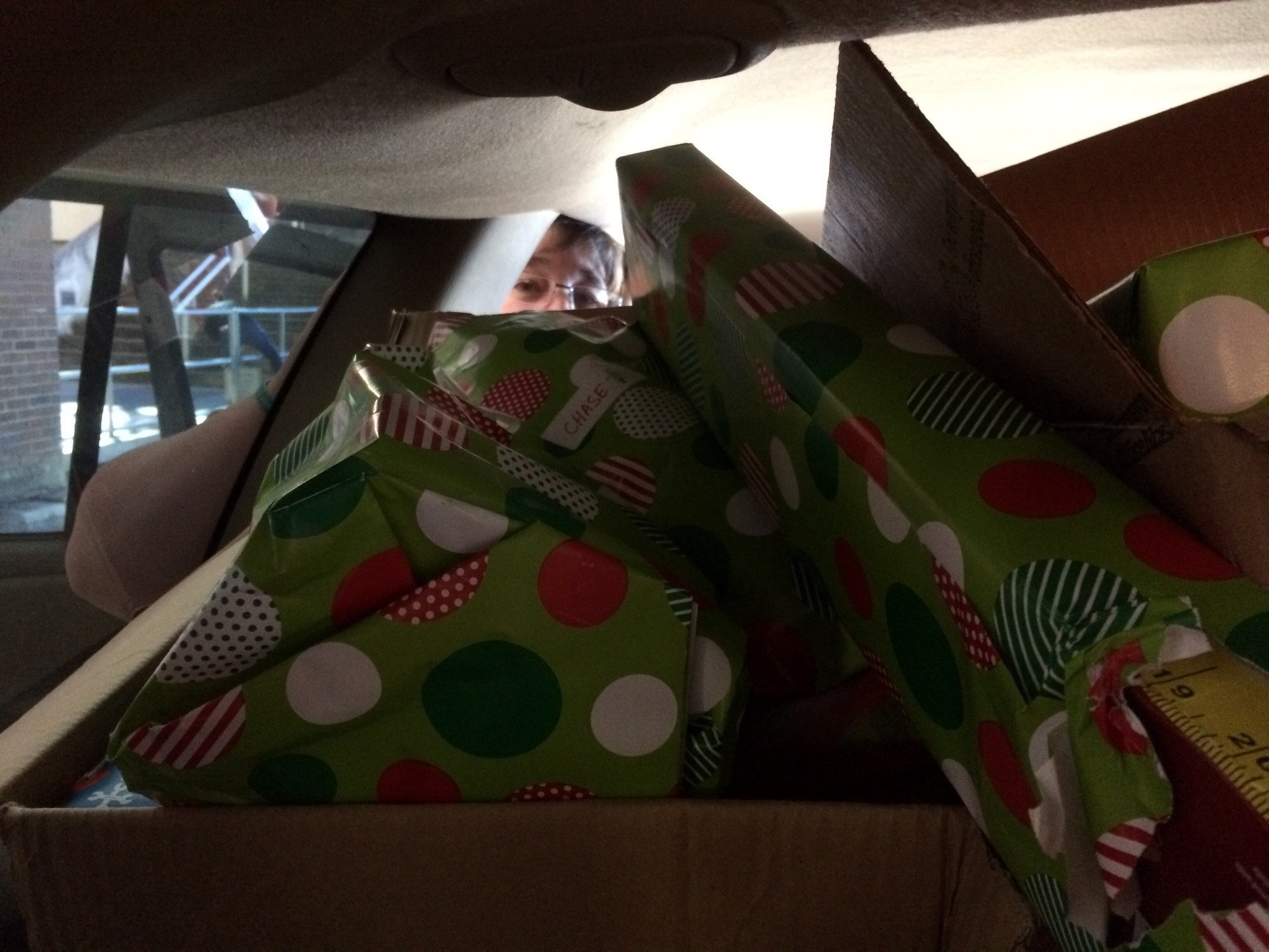 presents in car